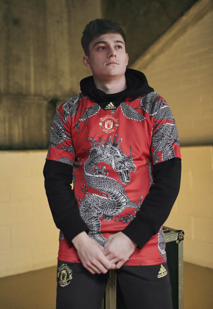 Manchester United X Adidas Special Chinese New Year Gaffer