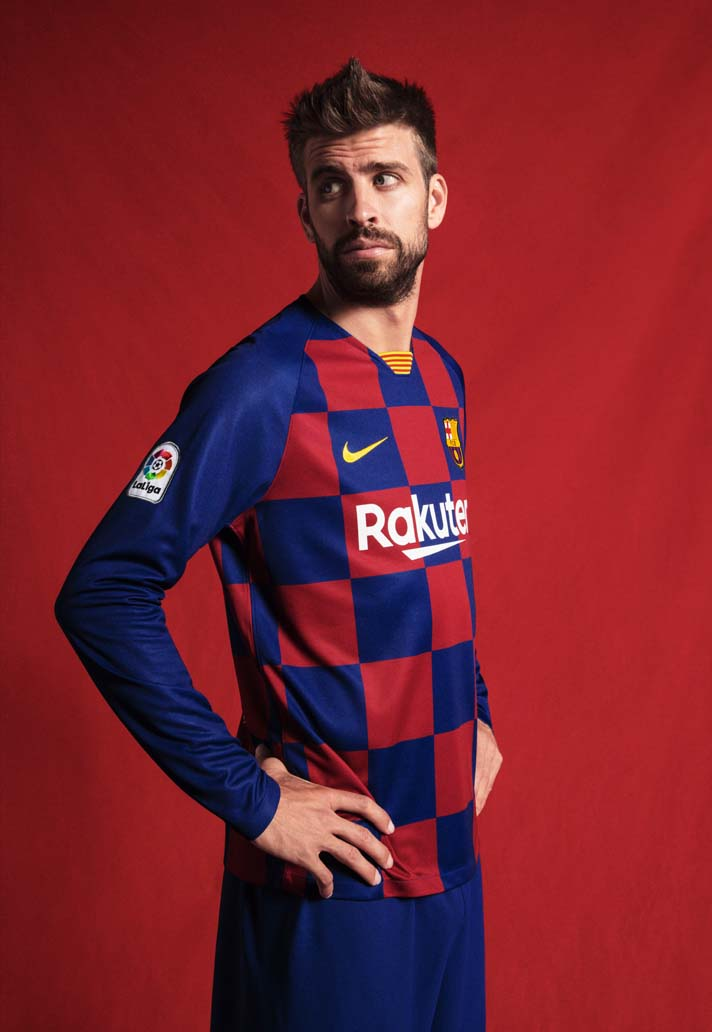 Nike Launch New Checkerboard Barcelona Jersey For 2019 20 Gaffer